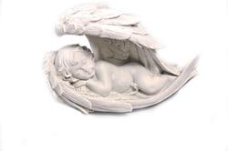 Figurine,  Angel, Decor, Wing