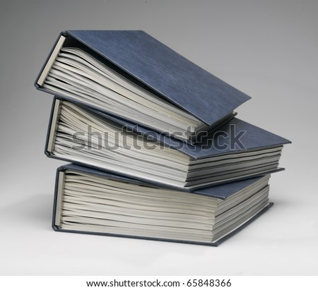 File archive on grey background