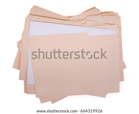 File folder for compiling info on various subjects #664319926