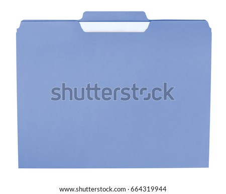 File folder for compiling info on various subjects #664319944