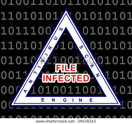 file infected