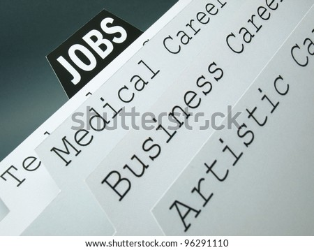 Files and job applications