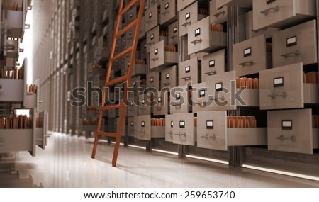 Files in the storage space