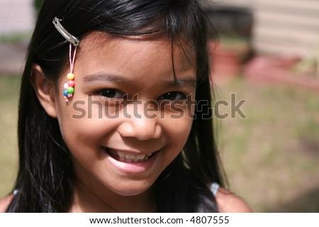 stock photo Filipino Girl