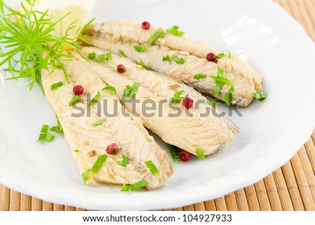 fillet of mackerel