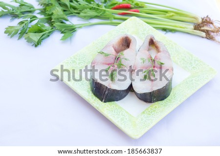 fillets of mackerel with tomatoes