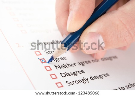 "Filling ""Agree"" checkbox of questionnaire"