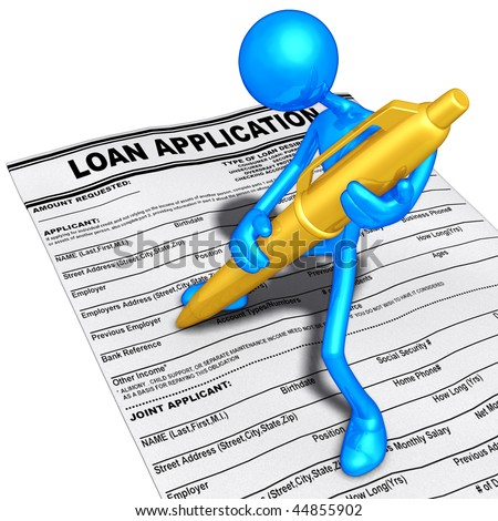 Loan Application Clip Art
