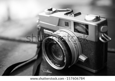 film cameras that had been...