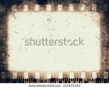 Film frame texture