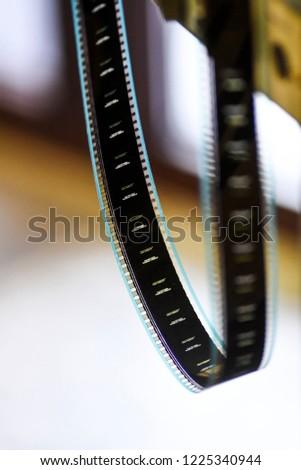 Film hanging. Film hanging. Film hanging. #1225340944