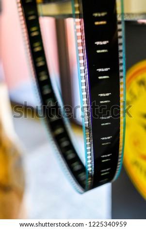 Film hanging. Film hanging. Film hanging. #1225340959