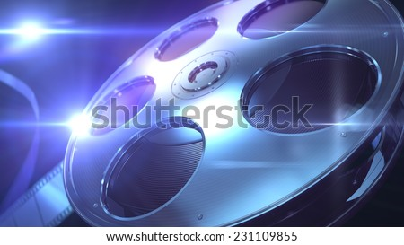 Film Reel. High quality image of Film Reel.
