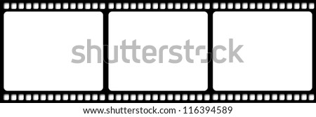 Film reel illustration isolated