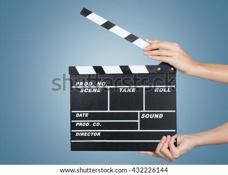Film Slate. #432226144