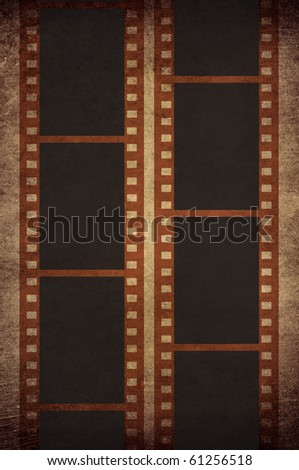 film strip in old style