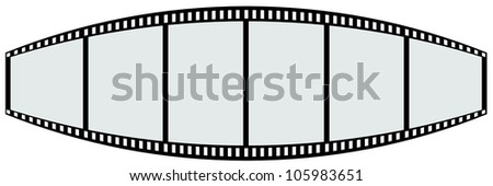 film strip shape like teeth