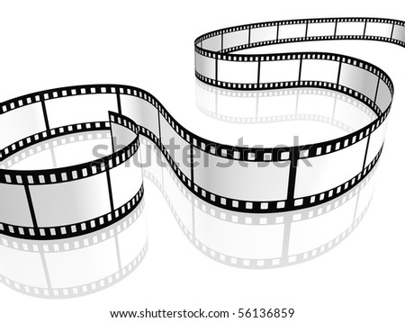 film strip white