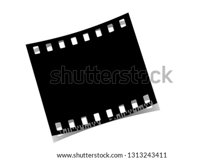 Filmstrip, analogue photography, Illustration