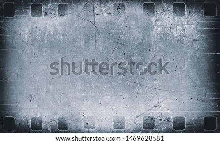 Filmstrip negative texture with dust and scratches