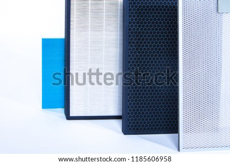 Filter replacement. Service for the replacement of air filters. Air filters. #1185606958