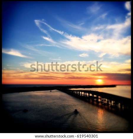 Filtered Images of Destin, Florida USA #619540301