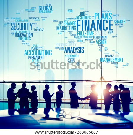 Finanance Security Global Analysis Management Accounting Concept Imagine de stoc ©