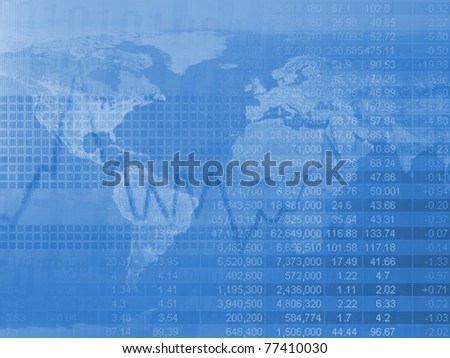 Finance background with market data. Business concept.