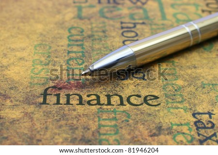 Finance concept - stock photo
