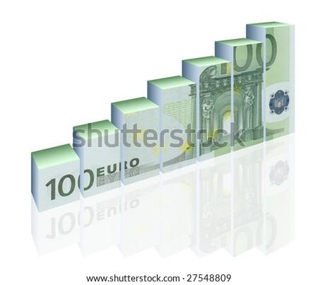 finance diagram - stock photo