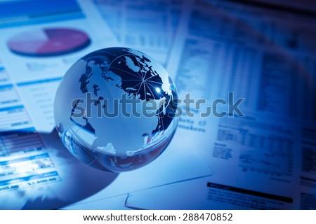 Finance, Global Business, Global Communications.