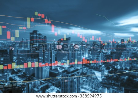 Finance growth Concept
