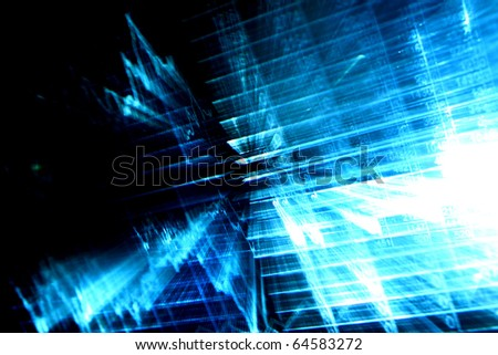 financial abstract background - stock photo