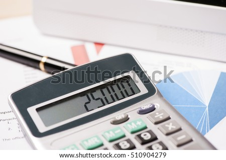 Financial accounting - Shutterstock ID 510904279