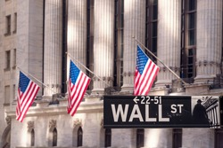 Financial Center on Wall Street