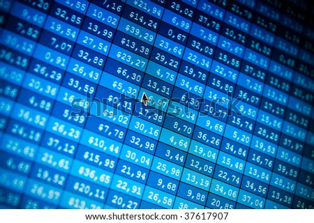 Financial data- stock exchange