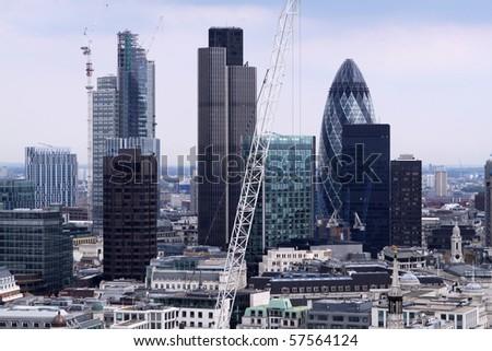 Financial District. London - stock photo