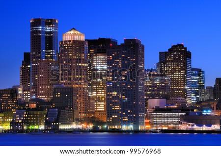 Financial District of Boston, Massachusetts.