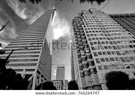 Financial district, San Francisco, California, United States #766264747