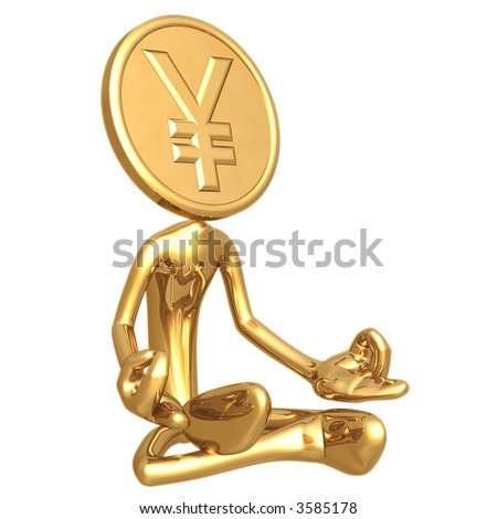 Financial Guru Gold Yen Coin