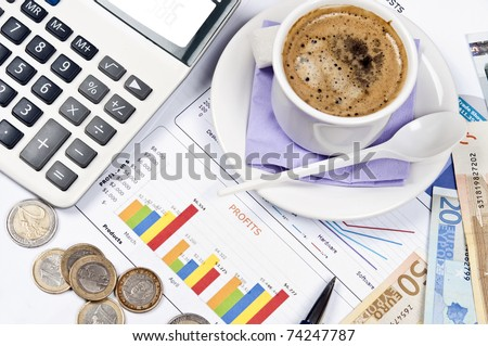 Financial paper and office tools