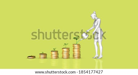 Financial Planning Tips and Information Advice Concept 3d render Stock photo ©