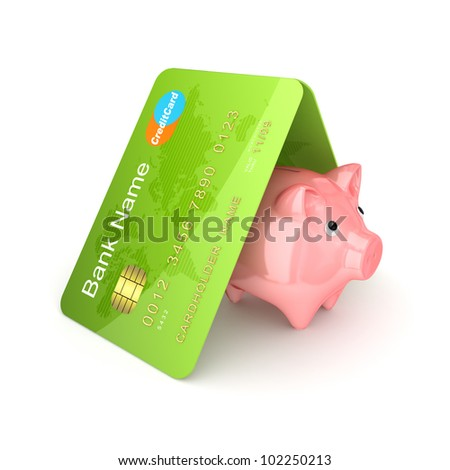Financial safety concept.Isolated on white background.3d rendered.