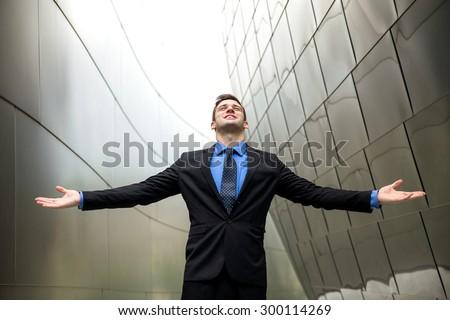 Financial success money wealth and power pride confidence esteem glory owner businessman