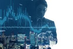 Financial technology concept. Fintech.