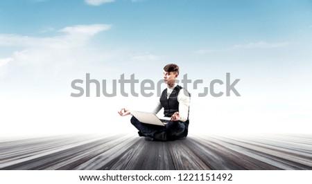 Finding his inner balance #1221151492