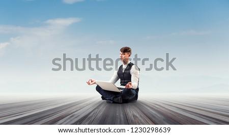Finding his inner balance #1230298639