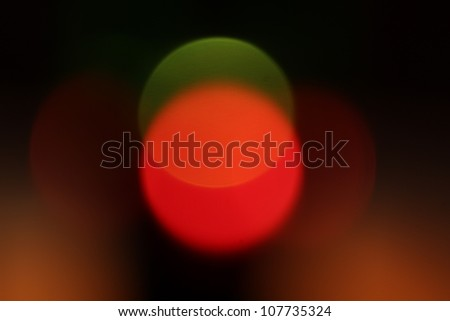 fine abstract image of red and green defocused lights