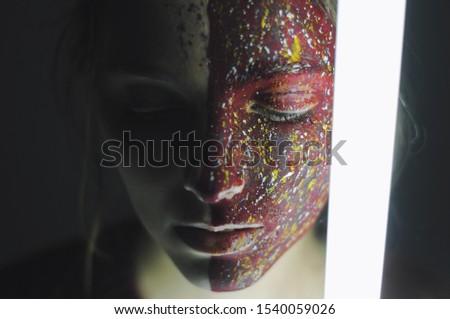Fine art portrait of a stunning beauty