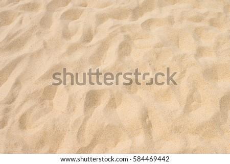 Fine beach sand in the summer sun #584469442